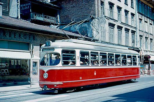 Streetcar Innsbruck 1962 by Cumberland Warden