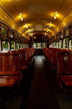 Streetcar Interior by Susie Hoffpauir