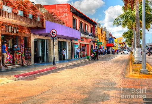 Streets of Cozumel by Debbi Granruth