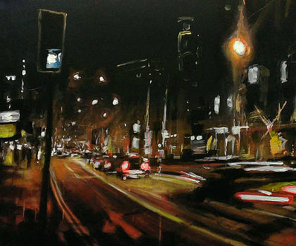 Streets Of London Night 1 by Paul Mitchell