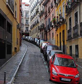 Streets of Madrid by Srikanth Srinivasan