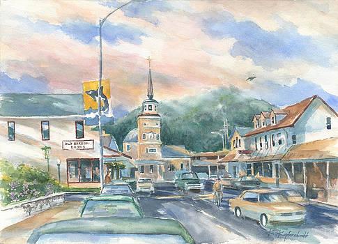 Streets of Sitka by Kerry Kupferschmidt