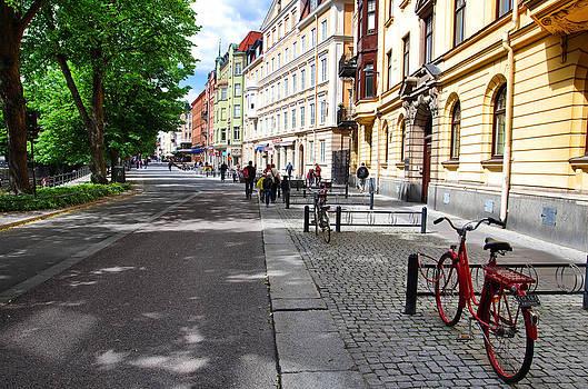 Streets of Uppsala by Sergei Zinovjev
