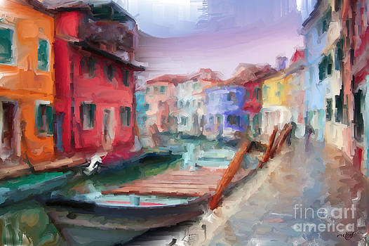 Streets of Venice by Ruby Cross