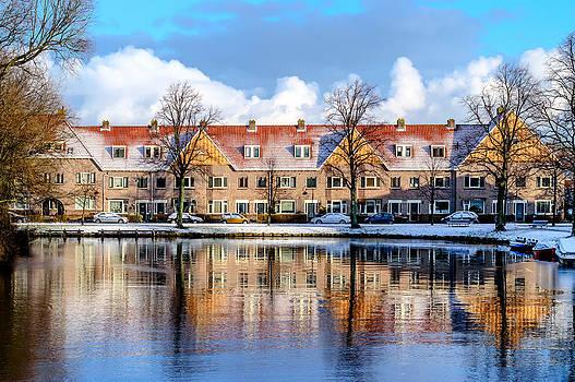 Streetview - Haarlem - the Netherlands by Yvon van der Wijk