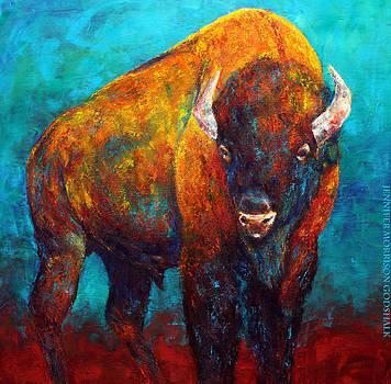 Strength Of The Bison by Jennifer Godshalk