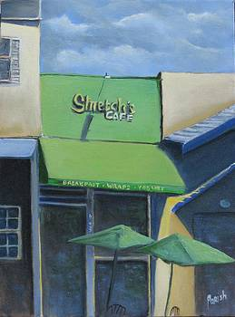 Stretch's Cafe by Paintings by Parish