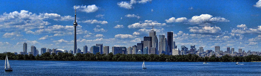 Striking Toronto skyline by Jo Ann
