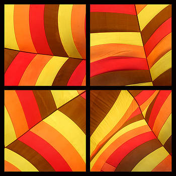 Art Block Collections - Striped Balloon
