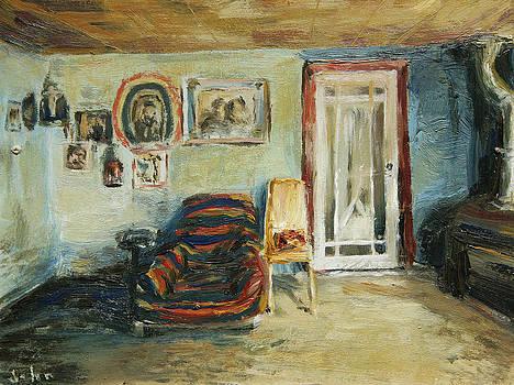 Striped Chair by John Matthew