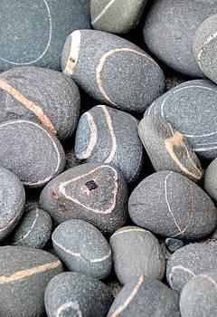 Striped Rocks by Sharon Sefton