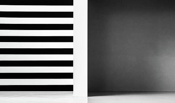 Stripes And Shadows by Inge Schuster