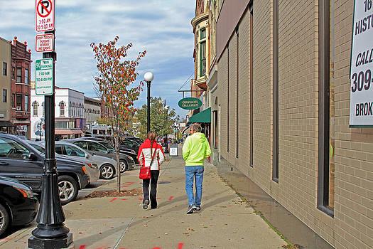 Strolling Down Main by Carolyn Ricks