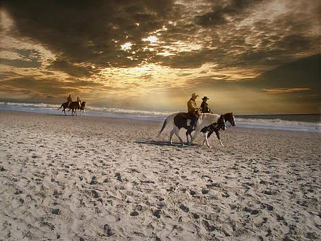 Strolling Horses by Nelson Watkins