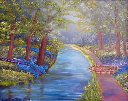 Strolling in the Park by Dorothy Merritt