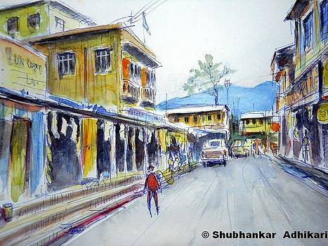 Strolling through the hill-top market near Darjeeling in  North Bengal by Shubhankar Adhikari