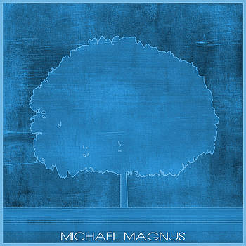 Strong Blue by Michael Magnus