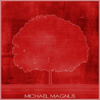 Strong Red by Michael Magnus