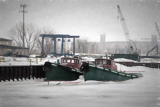 Stuck In Buffalo by Guy Whiteley