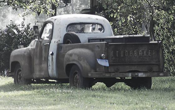 Studebaker Old Truck by Danielle Allard