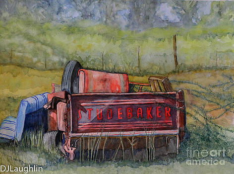 Studebaker Truck Tailgate by DJ Laughlin