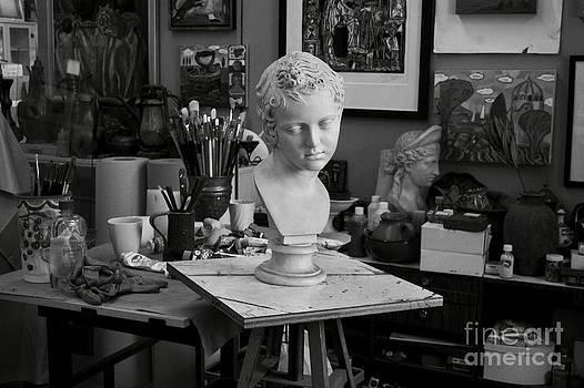 Studio bust by Thomas Sauerwein
