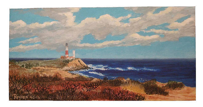 Study at Montauk Point by Reuven Gayle