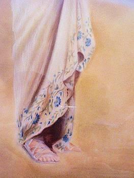 Study in Pastel   detail by Jo Marrocco