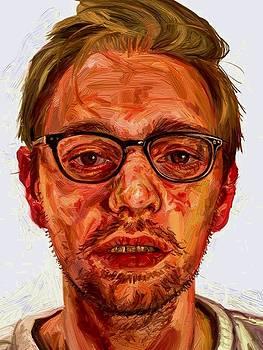 Study of Ian Cumberland - BP Portrait Awards 2013 by Edward Ofosu