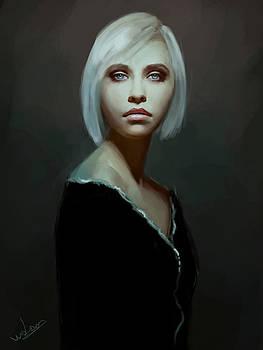 Study Portrait by Andra Watson