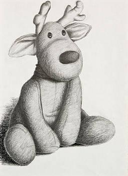 Jeanette K - Stuffed Toy Reindeer