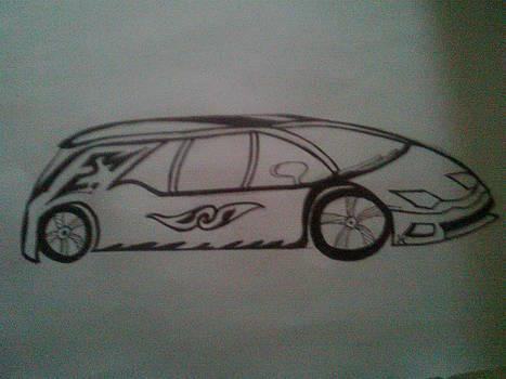 Stuffff Car. by Himanshu Prajapati