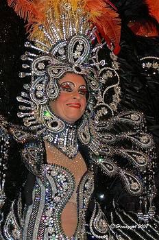 Hemu Aggarwal - Stunning Mardi Gras Costume
