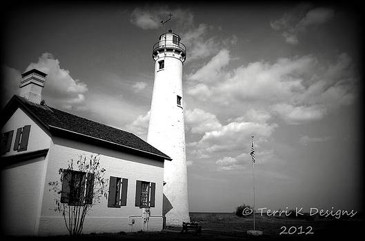 Sturgeon Point Lighthouse by Terri K Designs