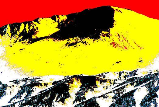 Stylized Peaks by Miki  Finn