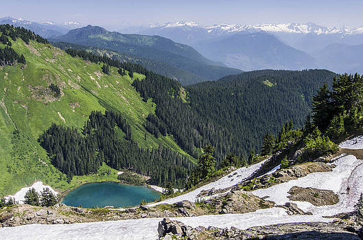 Wayne  Johnson - Sub Alpine Lake Mount Sauk WA