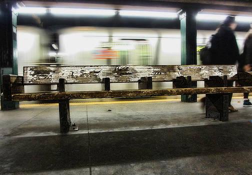 Subway Life - New York by Rod  Arroyo