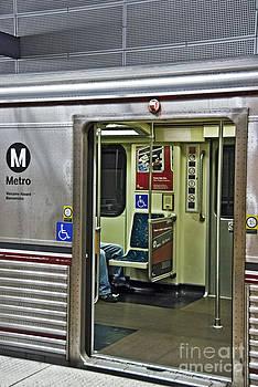 David Zanzinger - Subway MTA LACMTA Los Angeles CA Hollywood Station
