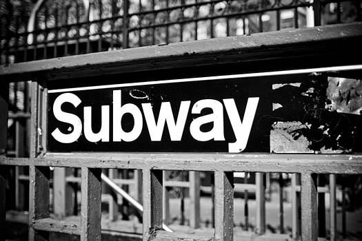 Subway Sign by Newyorkcitypics Bring your memories home