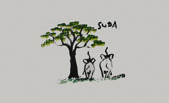 Colin Smeaton - Suda Grey Canvas