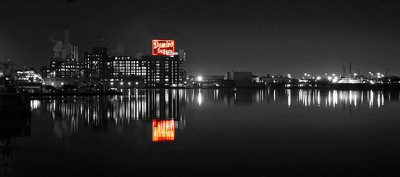 Sugar Glow - Domino Sugars - Vibrant Color Splash by William Bartholomew