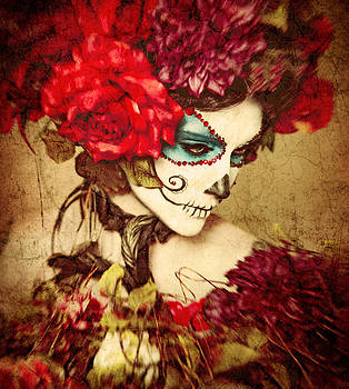 Sugar Skull by Renee Sarasvati