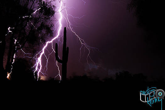 Suguaro Lightning by Kenny Jalet