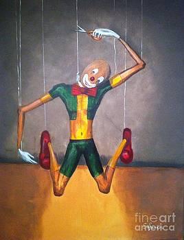 Suicide of A Puppet by Safa Al-Rubaye