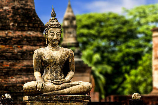 Sukhothai Enlightenment Buddha by Rob Tullis