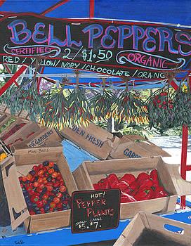 Sullivan's Pepper Cart by Susan Fox