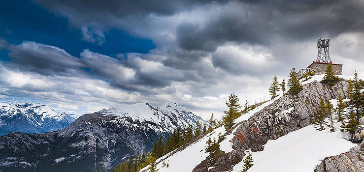 Sulphur Mountain Up High by Chris Halford