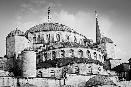 Sultan Ahmed Mosque or Blue Mosque in Istanbul  by Isabel Poulin