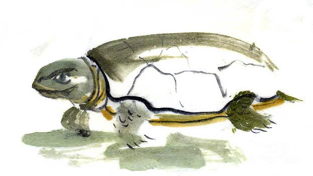 Ellen Miffitt - Sumi-e Turtle