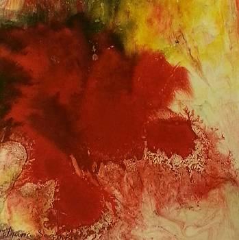 Suminagashi number one by Tatyana Seamon
